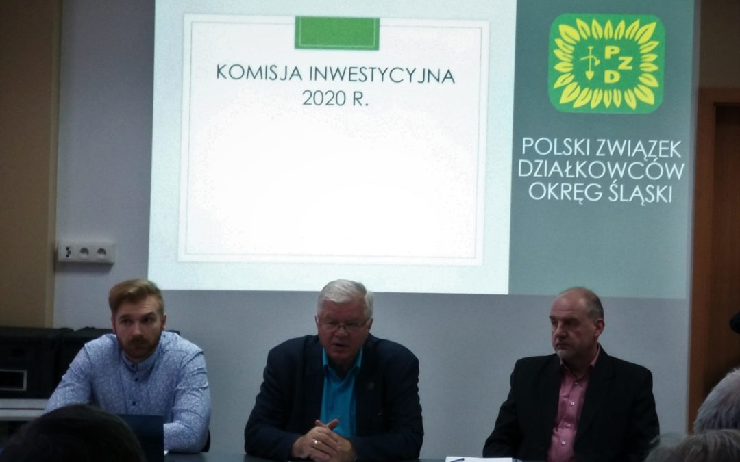 I posiedzenie Okręgowej Komisji Inwestycyjnej