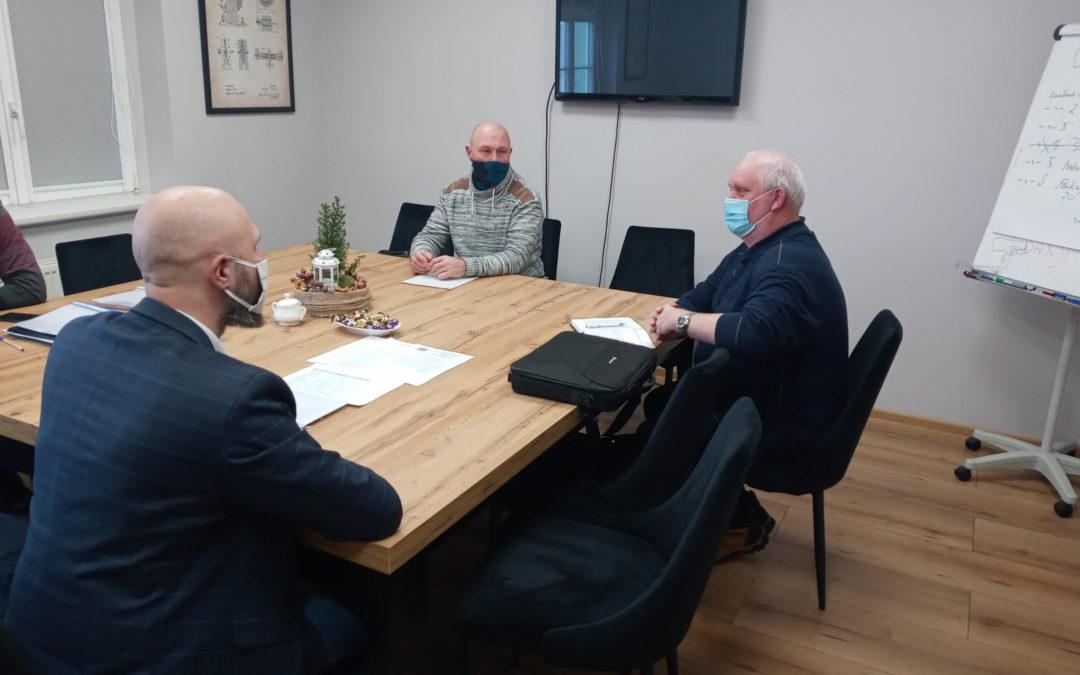 Spotkanie przedstawicieli ROD z Zastępcą Burmistrza Miast Radlin