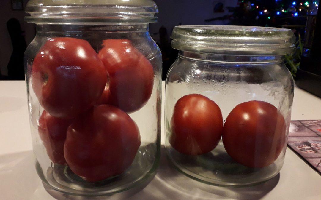 Czy można dodać smaku pomidorom ze sklepu?