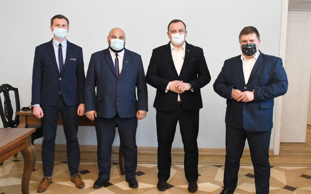Spotkanie z Marszałkiem Województwa Śląskiego w sprawie wsparcia finansowego ROD