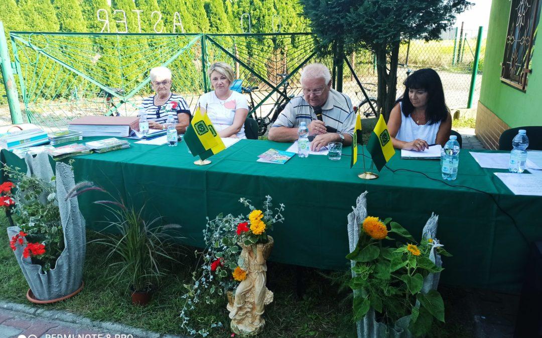 Walne Zebranie Sprawozdawcze w ROD Aster w Żorach