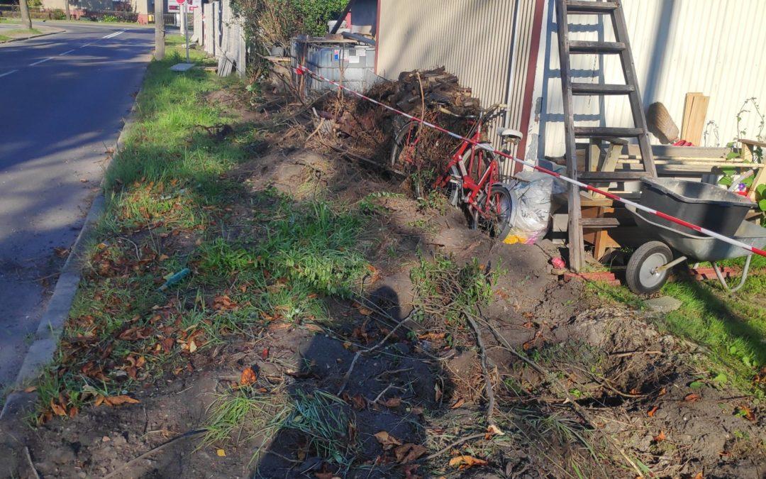 Ruszyły prace inwestycyjne w rodzinnych ogrodach działkowych w Zabrzu